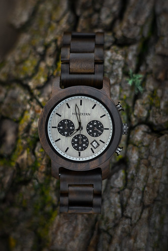 Wood Watch from Toni Hoffmann