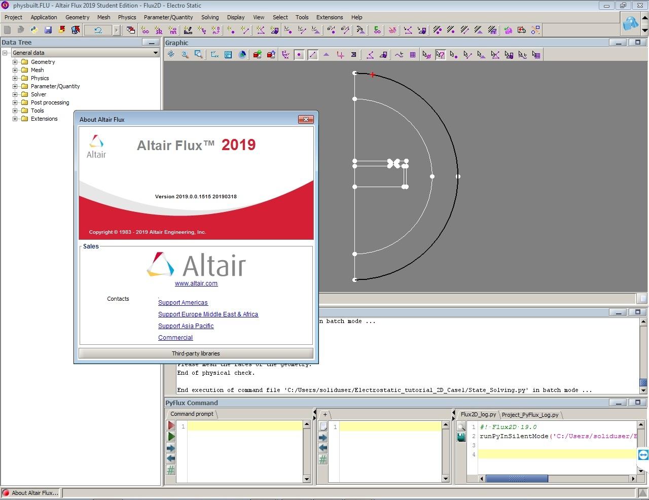 Altair Flux 2019.0.0.1515 x64 full license forever