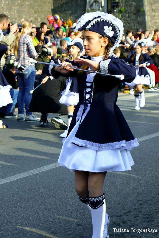 Танец мажореток