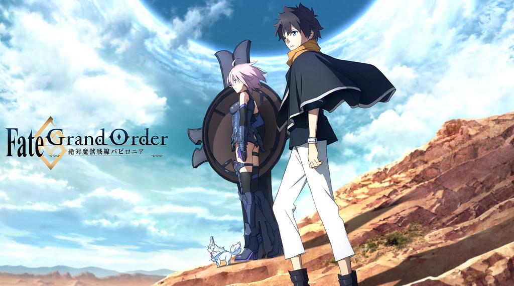 190324(2) - 挑戰10月霸權!動畫版《Fate/Grand Order 第7特異點 絕對魔獸戰線 巴比倫尼亞》發表正式預告片&海報!