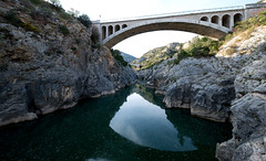 Le Pont du Diable sur l'Hérault - Photo of Saint-André-de-Sangonis