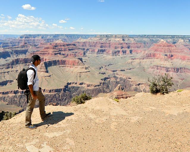 Powell Point, de los miradores más espectaculares del Gran Cañón