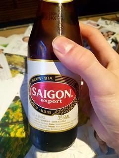 vietnamesisches Bier bei Com Viet in Berlin am Alexanderplatz