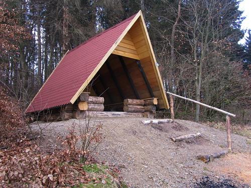 20110323 0210 033 Jakobus Wald Kapelle Zelt