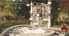 Trompe Loeil - Amorette Bathing Fountain for Collabor88 February