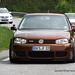 Brown VW Golf Mk4 R32