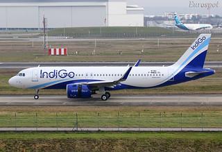 F-WWDQ Airbus A320 Neo Indigo