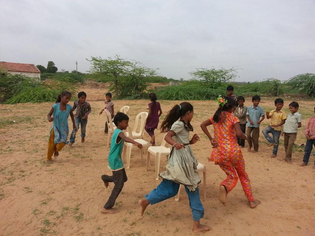 GAP at Pirdhar, Gujarat - Games Session