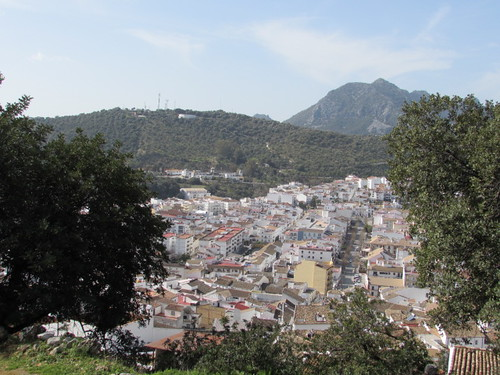 Ubrique from Viewpoint
