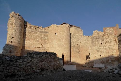 Haza (Burgos-España). Ruinas del castillo