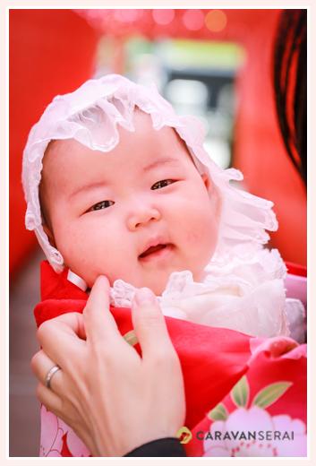 深川神社へお宮参り 愛知県瀬戸市 女の子赤ちゃん