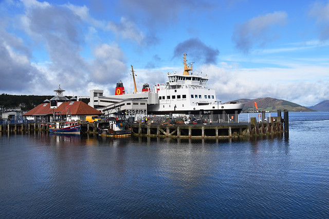 Bute ferry, Rothesay, Bute