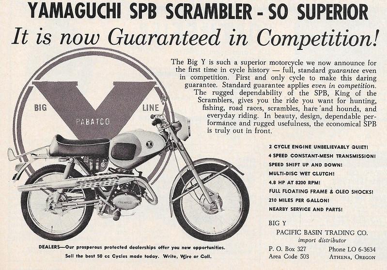Yamaguchi SPB Scrambler