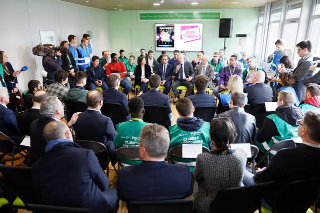 Lancement de la 9e Semaine de l'industrie: déplacement dans l'Eure