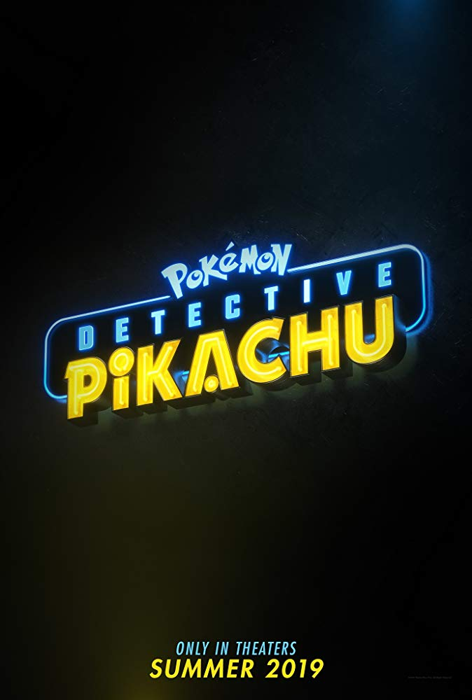 Detective Pikachu posters