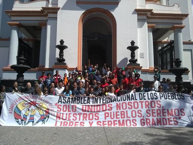 Mais de 200 jovens chegam à Venezuela para prestar solidariedade à população do país