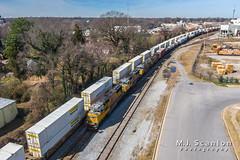 UP 3984 | EMD SD70M | NS Memphis District West End