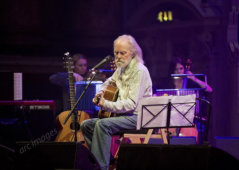 Roy Harper in concert, Leeds Town Hall, 22-03-19