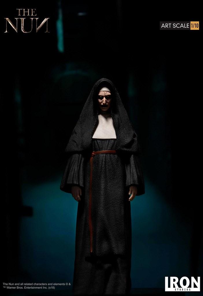 令人毛骨悚然的身影陰森再現!! Iron Studios《鬼修女》鬼修女 The Nun 1/10 比例全身雕像作品 普通版/豪華版