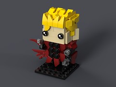 Vash The Stampede - Trigun BrickHeadz MOC