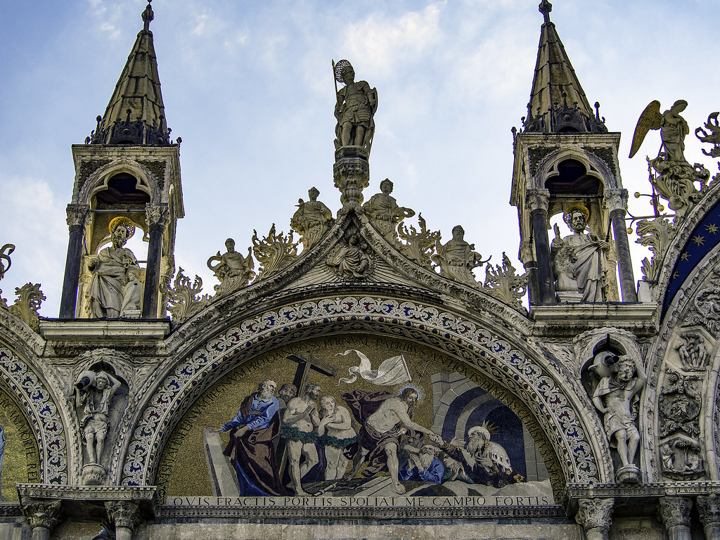 The Harrowing of Hell, Basilica San Marco, Venice