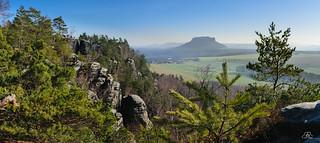 View from Rauenstein, Saxony