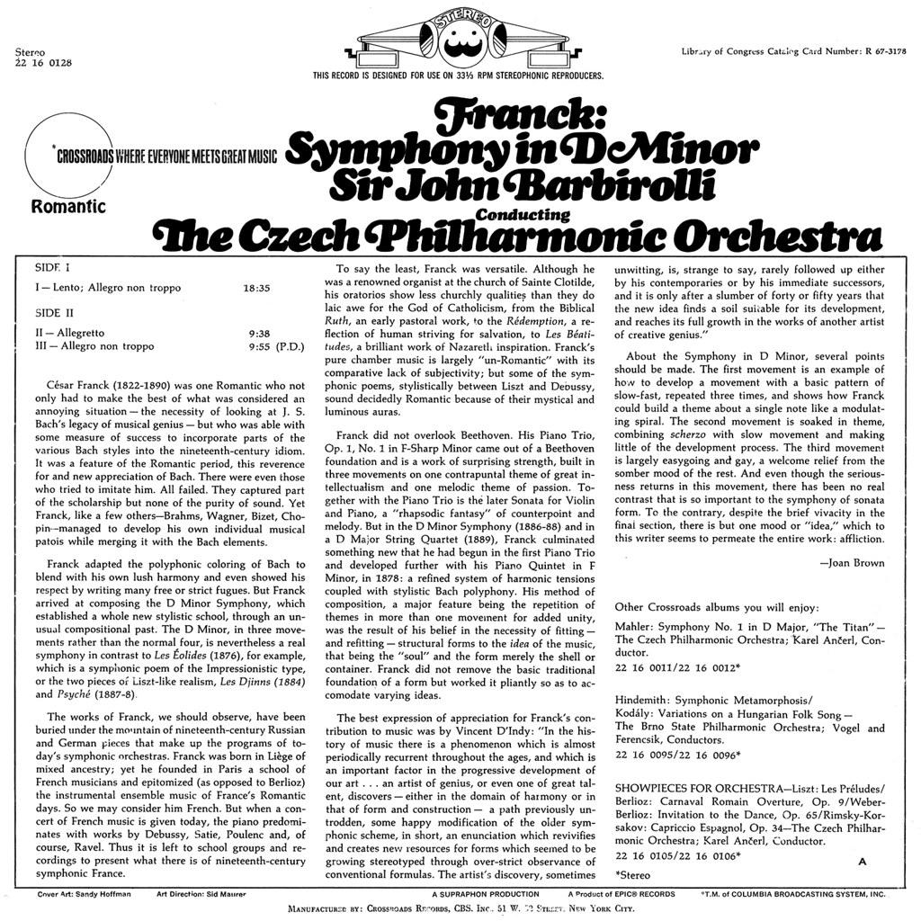 César Franck - Symphony in D minor
