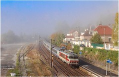 BB 15 012 ( On sort enfin du brouillard ) - Photo of Jouarre