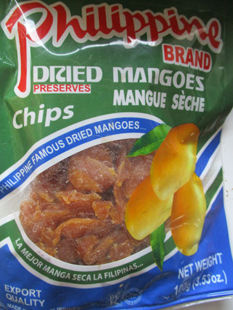 FILIPPINE Mango, dried.... r, Canon IXUS 160