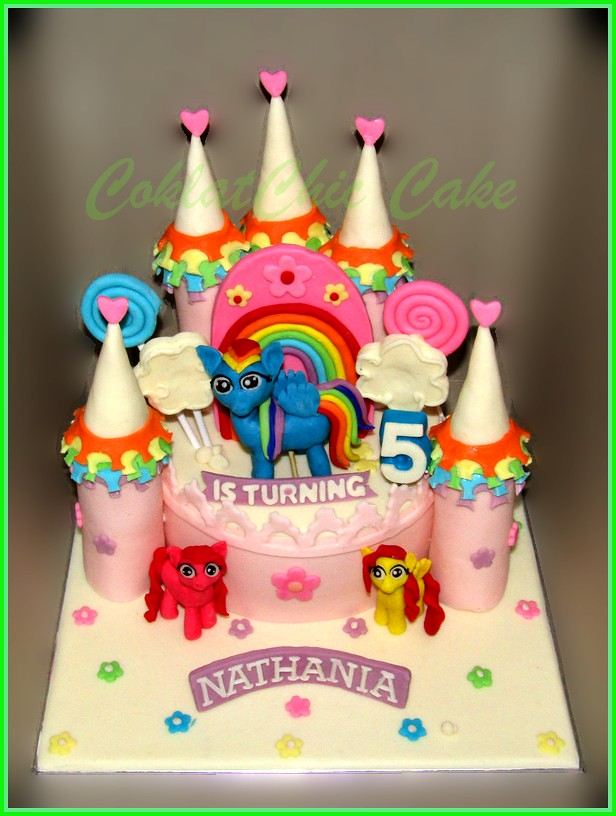 Cake My Little Pony Castle NATHANIA 15 cm