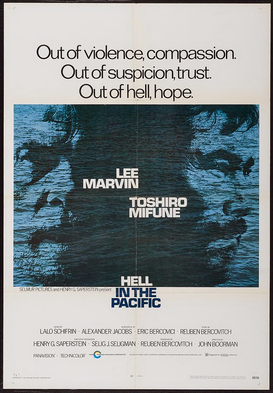 Hell in the Pacific - Poster 1