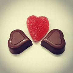 Alltid är det något av konsultbolagen som bjuder på sötsaker vid speciella högtider. :heart:️ #hjärta