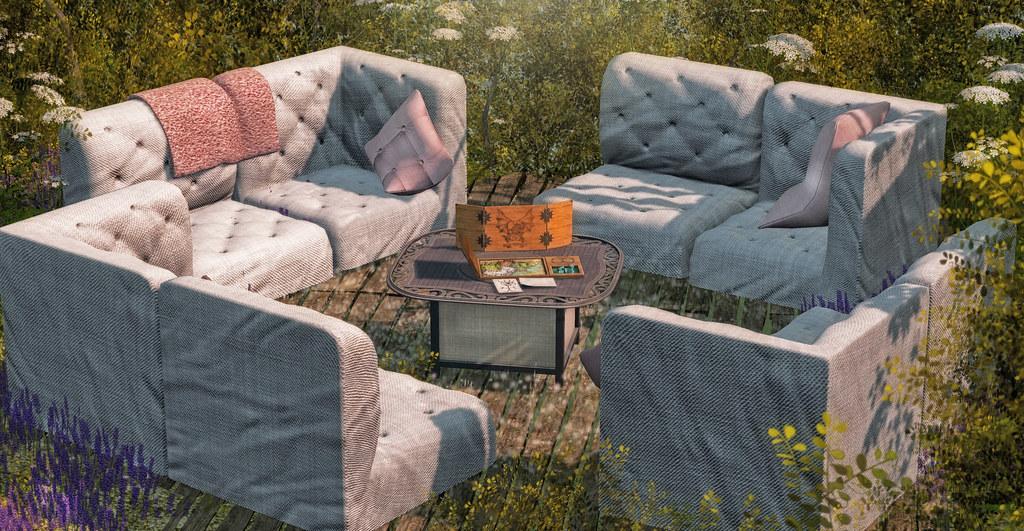 NEW <Heart Homes> RPG and lazy fun sofas set! - TeleportHub.com Live!