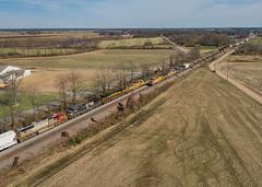 PRLX 200 (SD75M) Train:MNLSF/MMNNL Crawfordsville, Arkansas