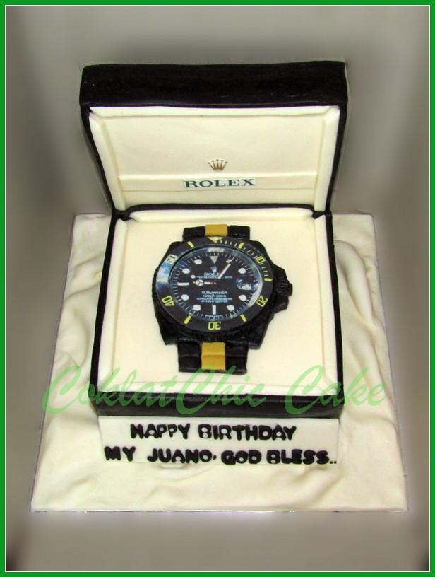 Cake Jam Rolex JUANO 15 cm