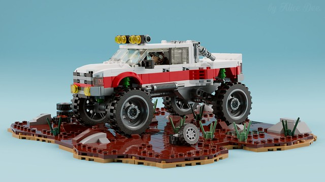 Dodge Ram 3500 Crew Cab Monster Truck [main]