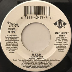 R. KELLY:GOTHAM CITY(LABEL SIDE-B)