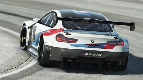rF2 BMW M6 GT3 Rear