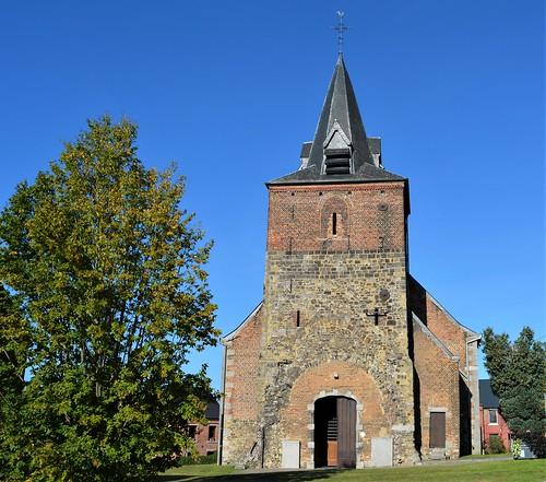 Église de Strepy-Bracquegnies. Hainaut. Belgique.