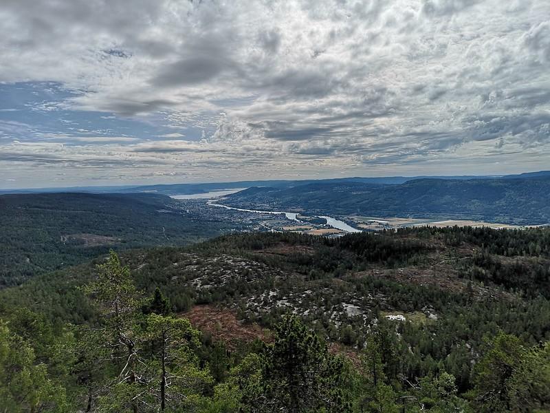 05-Utsikt mot Drammen fra Solbergvarden
