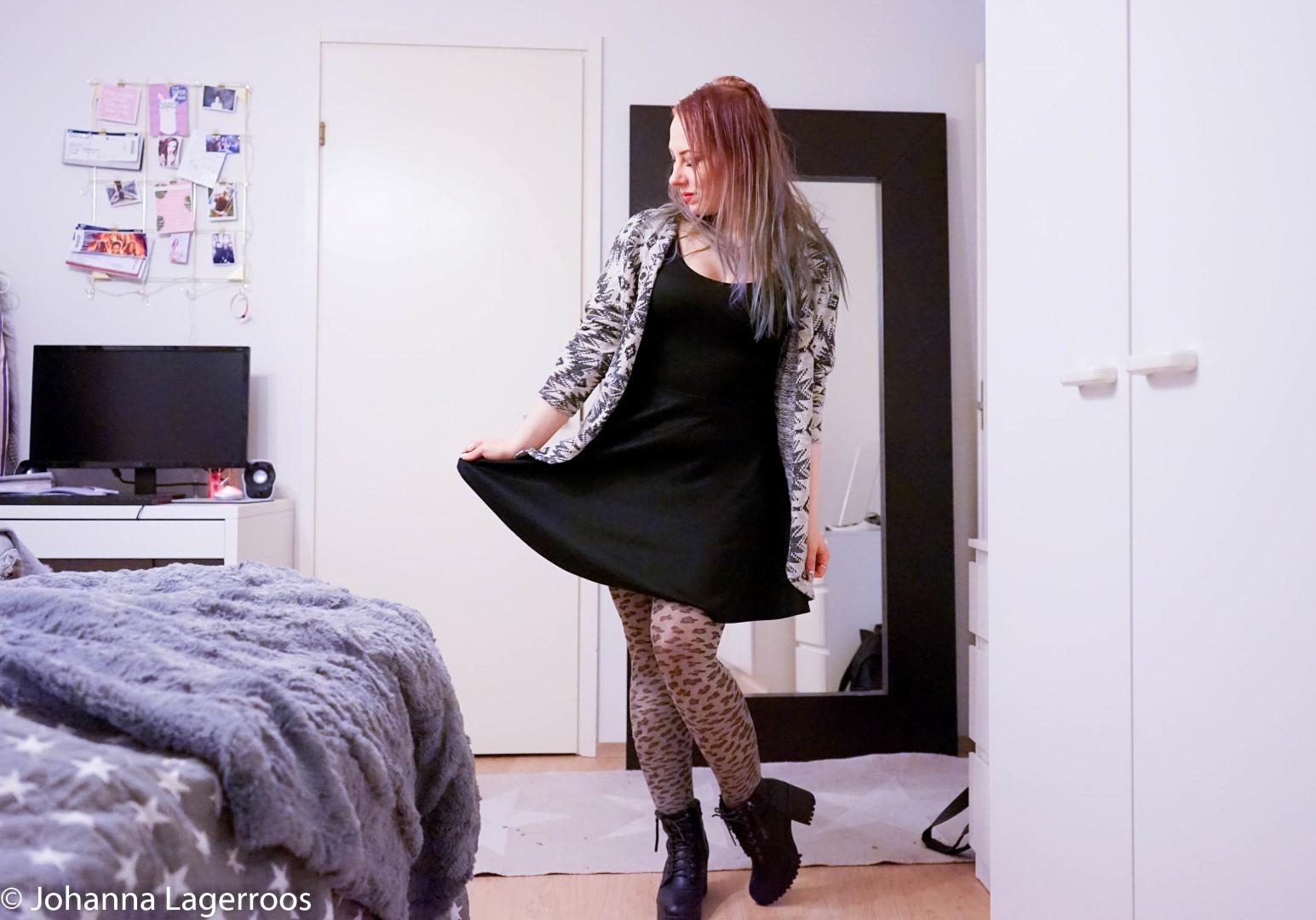styling a black dress