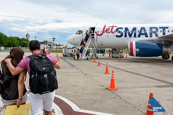 JetSMART A320 pasajeros en EPA (S.Blaise)