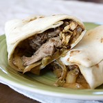 Mu Shu Pork Burritos