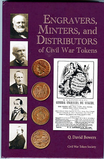 Engravers, Minters, and Distributors of Civil War Tokens book cover