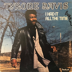 TYRONE DAVIS:I HAD IT ALL THE TIME(JACKET A)