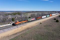 BNSF 9087 - Wylie Texas