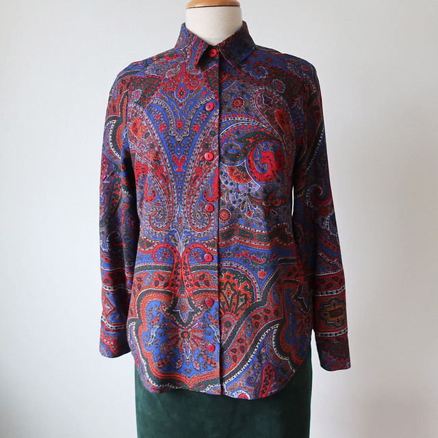 wool shirt front on form