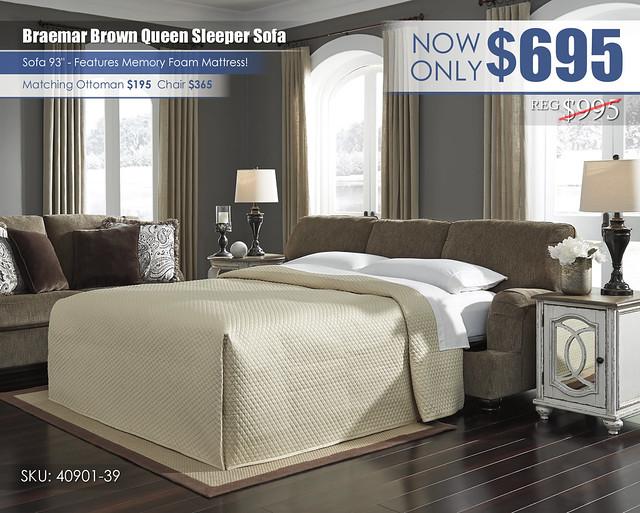 Braemar Queen Sleeper Sofa_40901-39