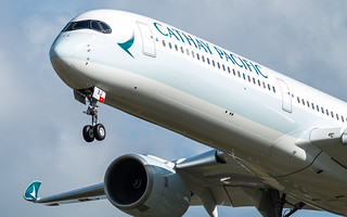 Airbus A350-1000 Cathay Pacific B-LXJ