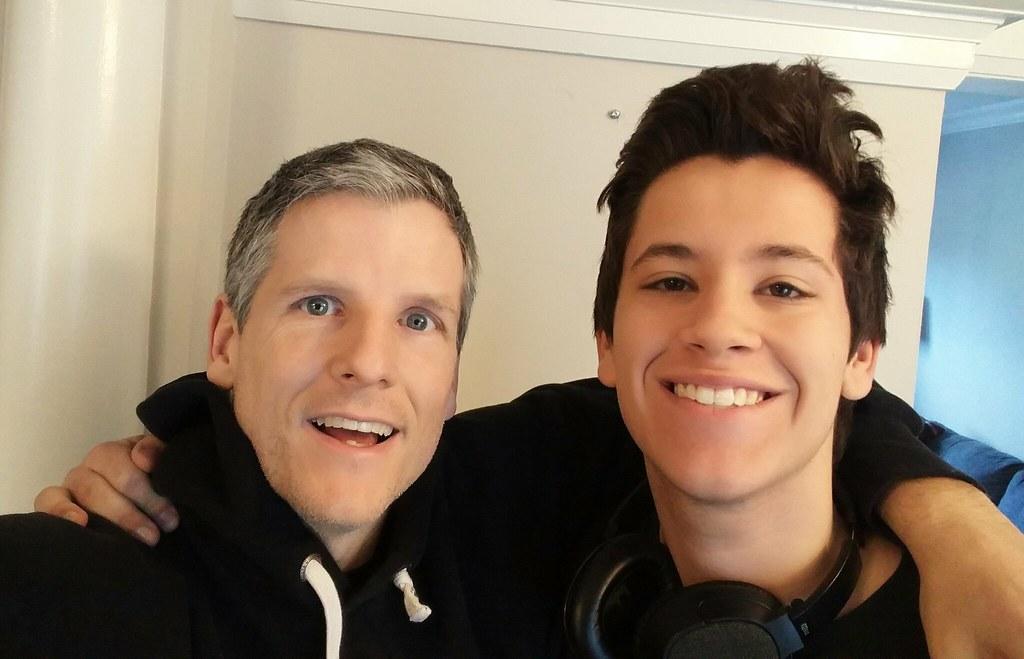 James and me